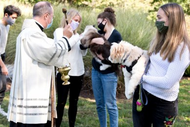 Saint Catherine of Siena Blessing of the Animals