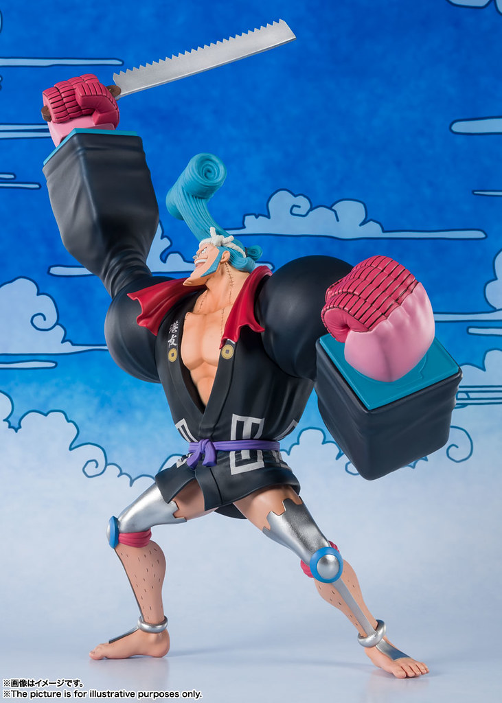 Figuarts ZERO《航海王》佛朗基(佛朗之介)不穿褲子的變態木工降臨武士國度!   玩具人Toy People News