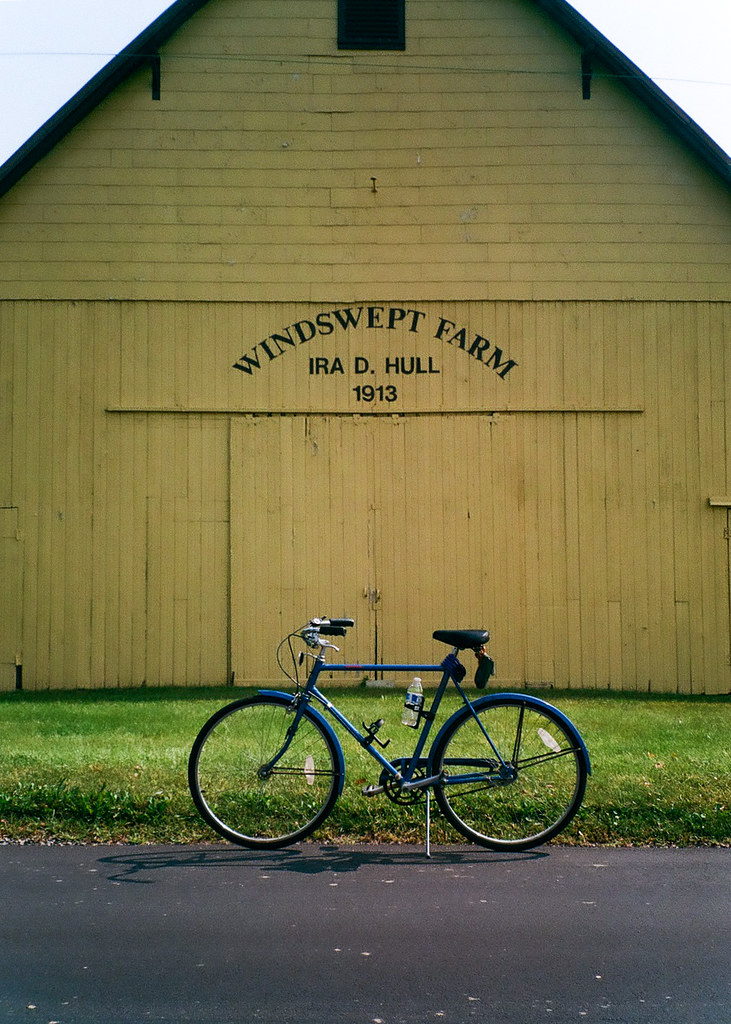 Windswept Farms and my bike