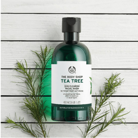 The Body Shop Tea Tree Facial Wash (400ml)