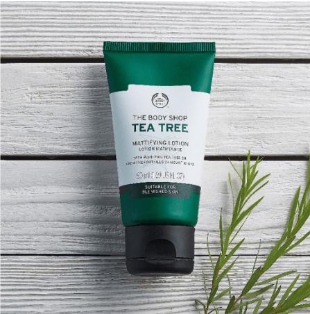 The Body Shop Tea Tree Mattifying Lotion (50ml)