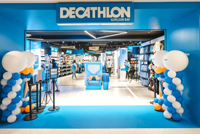 DECATHLON 進駐九龍東德福廣場,開設香港第五間分店!2