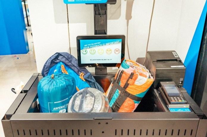 「Grab & Go」服務讓DECATHLON會員可以於自助櫃位使用多款電子付款方式快速結帳,減省排隊付款的時間,快捷投入健康活力人生。2