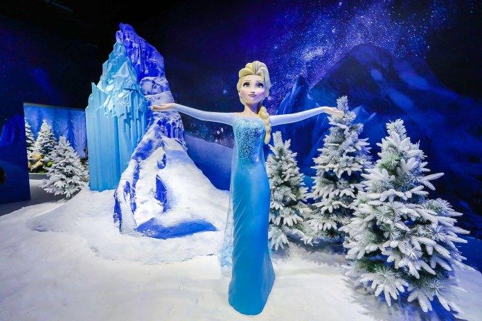 Frozen 參加者可於嚴寒冰山協助愛莎施展結冰魔法