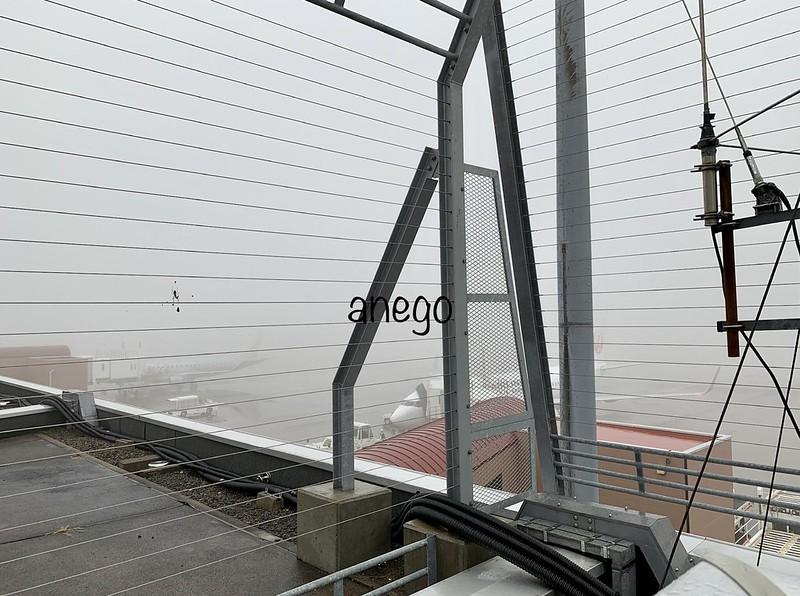 青森空港 展望台