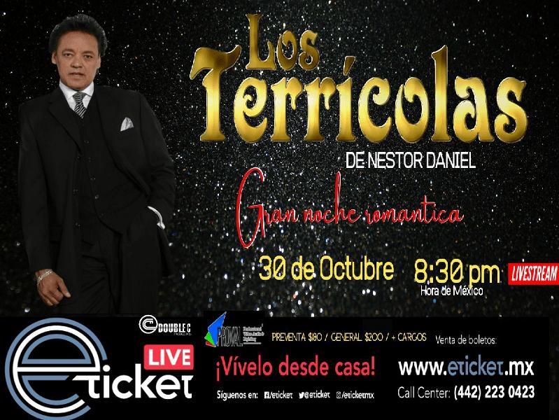 LOS TERRICOLAS DE NESTOR DANIEL - GRAN NOCHE ROMÁNTICA