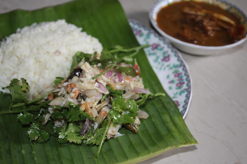 Crab Salad - Kankada Salad - Kankada Varta - Roasted crab salad