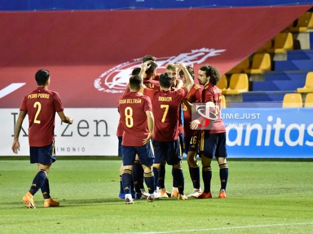 España - Kazajistán: España (Sub-21) con pie y medio en Europa