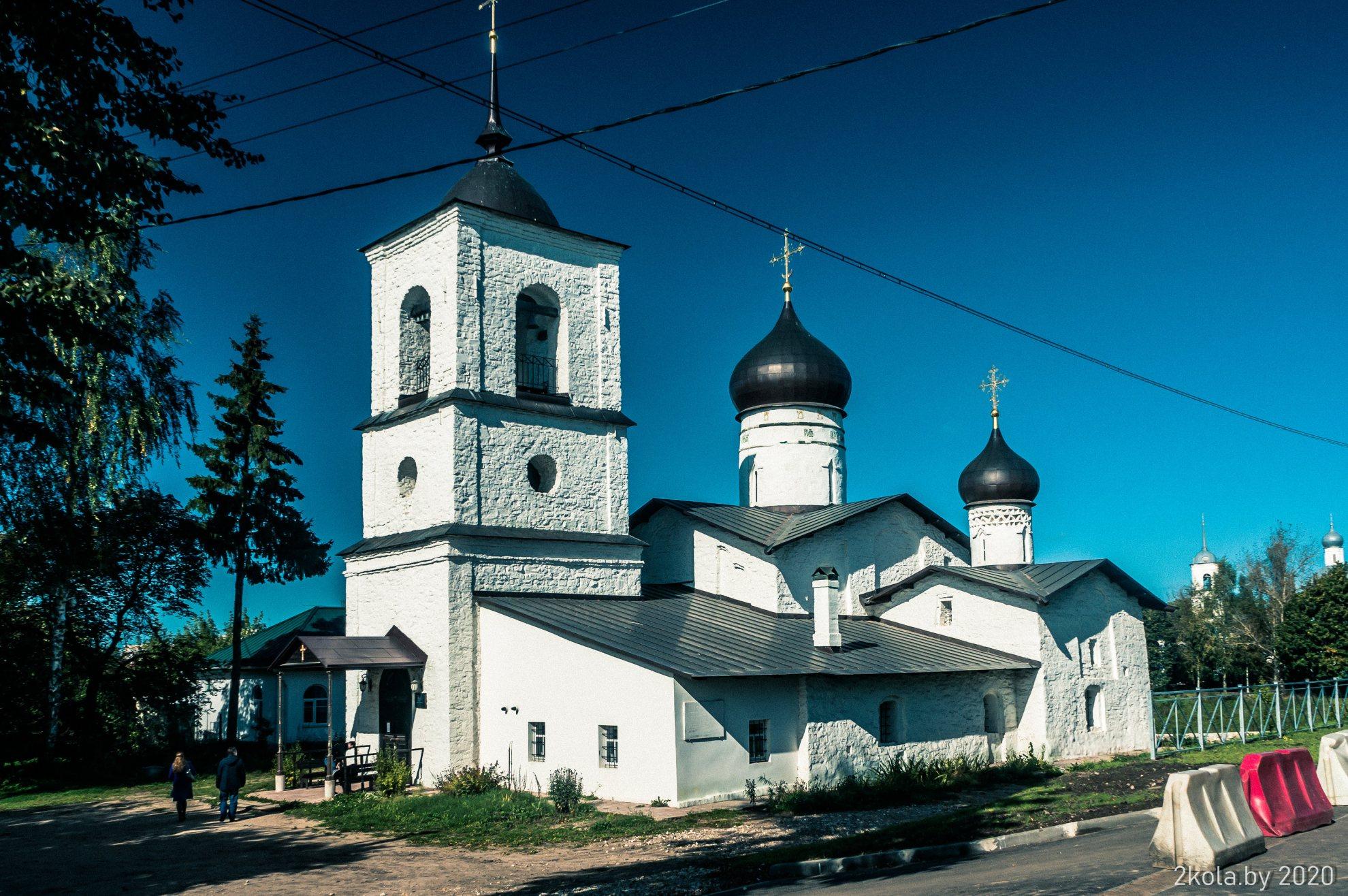 Церковь Николы Чудотворца. г. Остров