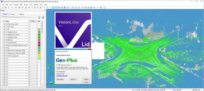 Working with Geo-Plus VisionLidar Ultimate v30.0 full