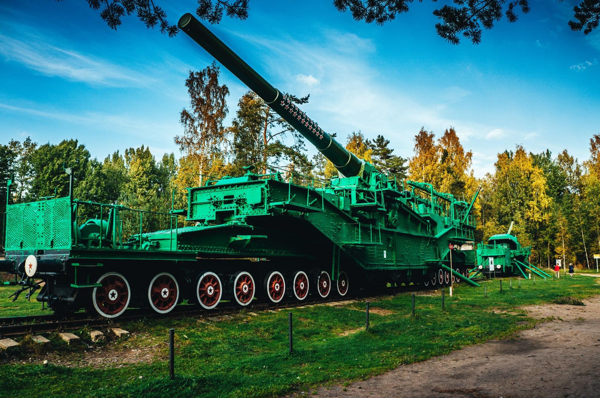 Сверхтяжелая артиллерийская железнодорожная система ТМ-3-12