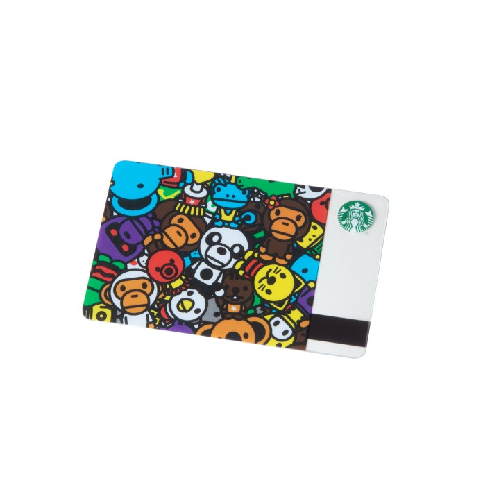 Starbucks_BABY MILO Starbucks Card