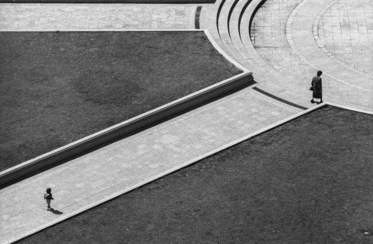 Plaza de la Constitucion, Santiago, 1989