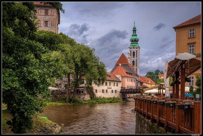 Český Krumlov_Vltava river_Czechia