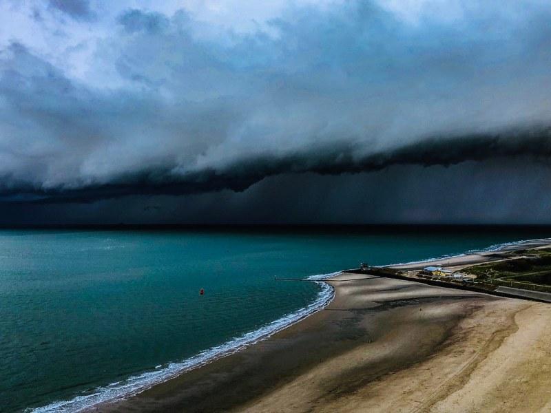Storm cloud....