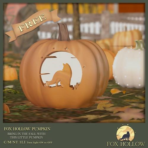 Fox Hollow Pumpkin