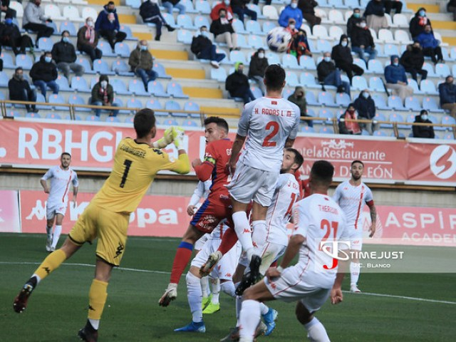 Cultural Leonesa 0-0 Numancia - SEGUNDA B (Jornada 2-Temporada 2020/2021)