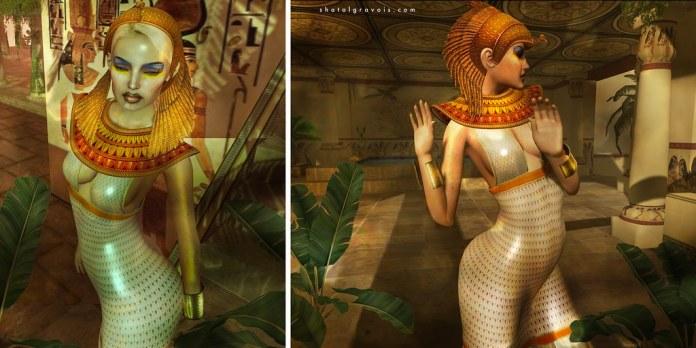 Walk like an egiptian...