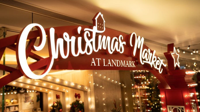 Christmas Market at LANDMARK4 置地廣塲