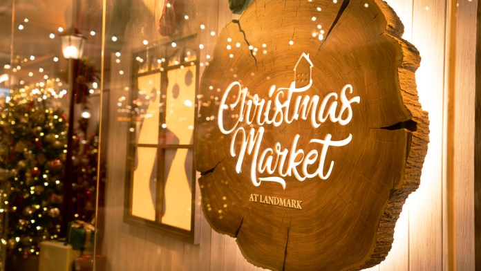 Christmas Market at LANDMARK2 置地廣塲