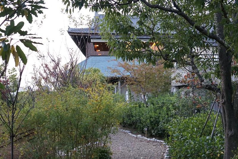 奈良ホテル 中庭