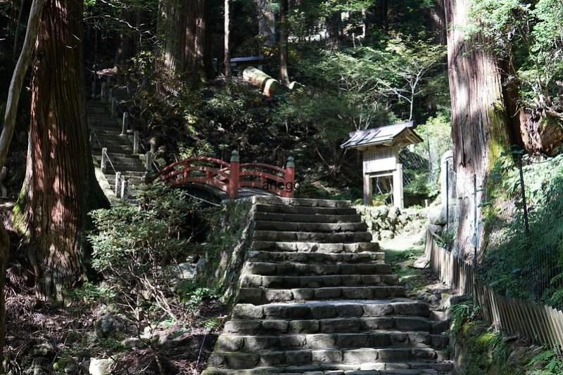 室生寺 奥の院へ