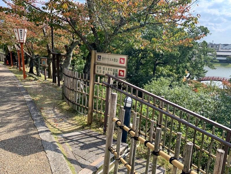 奈良ホテル 聖ラファエル教会へ