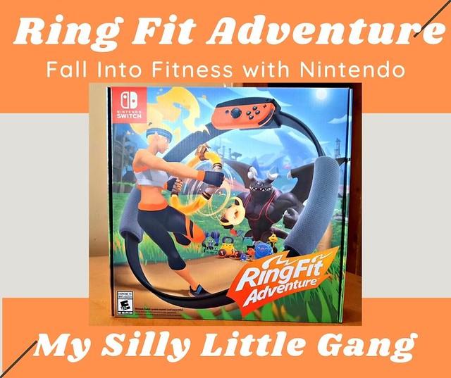#Ad Ring Fit Adventure ~ Fall Into Fitness with Nintendo #MySillyLittleGang #RingFitAdventure #fitnessgame #familyfun #nintendo