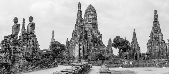 Ayutthaya / Wat Chai Watthanaram - Tambon Ban Pom, Chang Wat Phra Nakhon Si Ayutthaya, Thaïlande - 20/02/2018 11h55