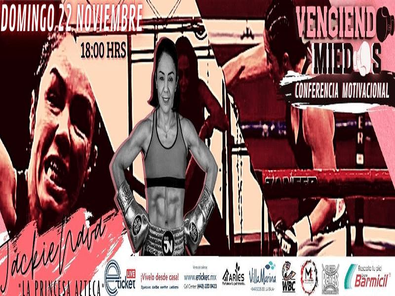 2020.11.22 JACKIE NAVA - LA PRINCESA AZTECA - VENCIENDO MIEDOS - CONFERENCIA MOTIVACIONAL