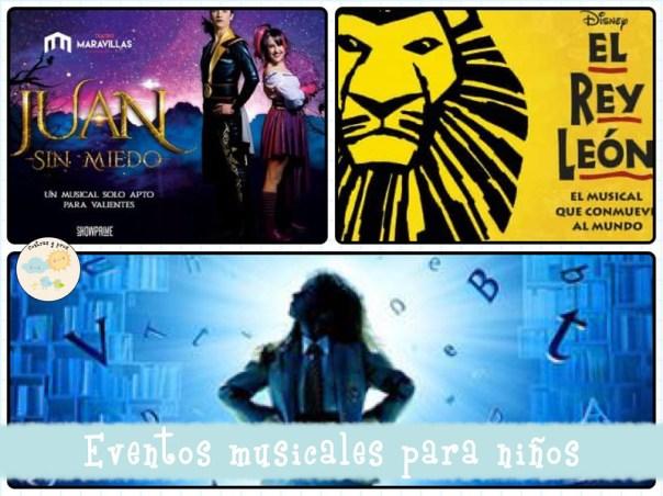 Eventos musicales para niños en Madrid esta temporada