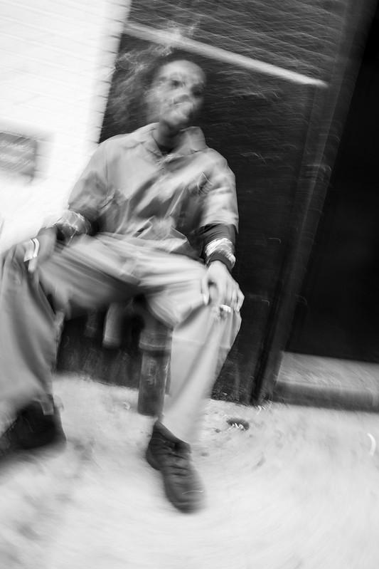 Blurred by the street - New York, New York, États-Unis - 09/05/2018 17h04