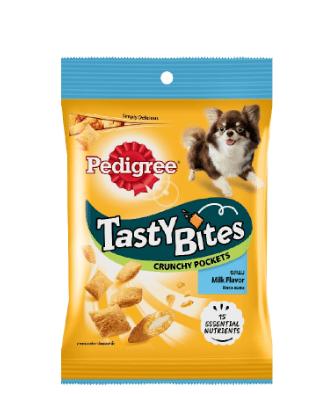 Pedigree Tasty Bites Pockets Milk 60g