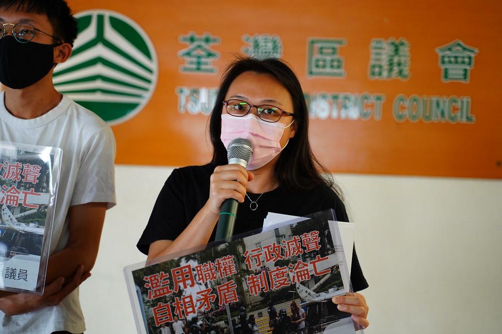 民政禁討論麗城花園警濫權 區議員:麗城唔屬於荃灣區? | 獨媒報導 | 香港獨立媒體網