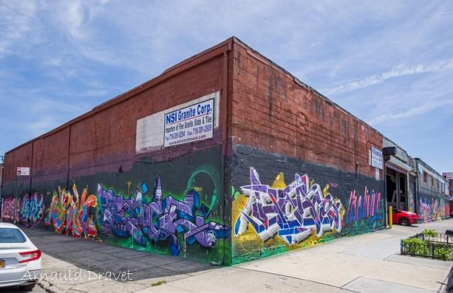 Painting in Brooklyn / Streetart - Kings County, New York, États-Unis - 11/05/2018 12h53