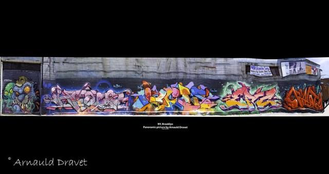 Painting in Brooklyn / Streetart - Kings County, New York, États-Unis - 11/05/2018 12h48