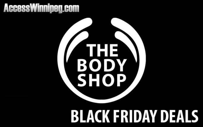 The Body Shop Canada Black Friday Deals 2020