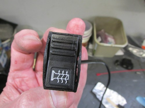 1988+ Heated Grip Switch Mounted Inside Plug