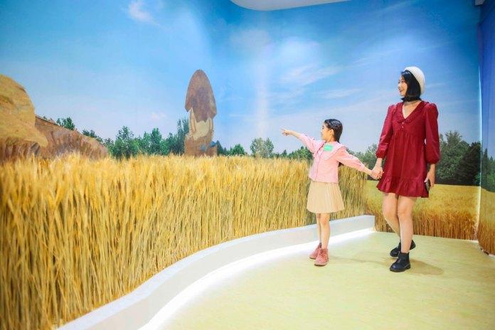 H‧COINS會員可親臨「梵高午睡梳乎藝拍區」,於巨型稻田內與gudetama享受一刻寧靜
