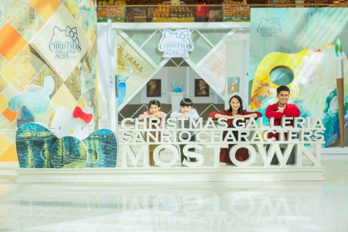 """馬鞍山MOSTown新港城中心破天荒與 Sanrio 合力打造""""MOSTown x Sanrio characters Christmas Galleria""""主題活動"""