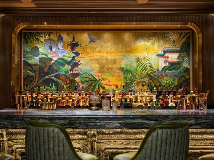 澳門瑞吉酒吧 The St. Regis Bar_ The Mural
