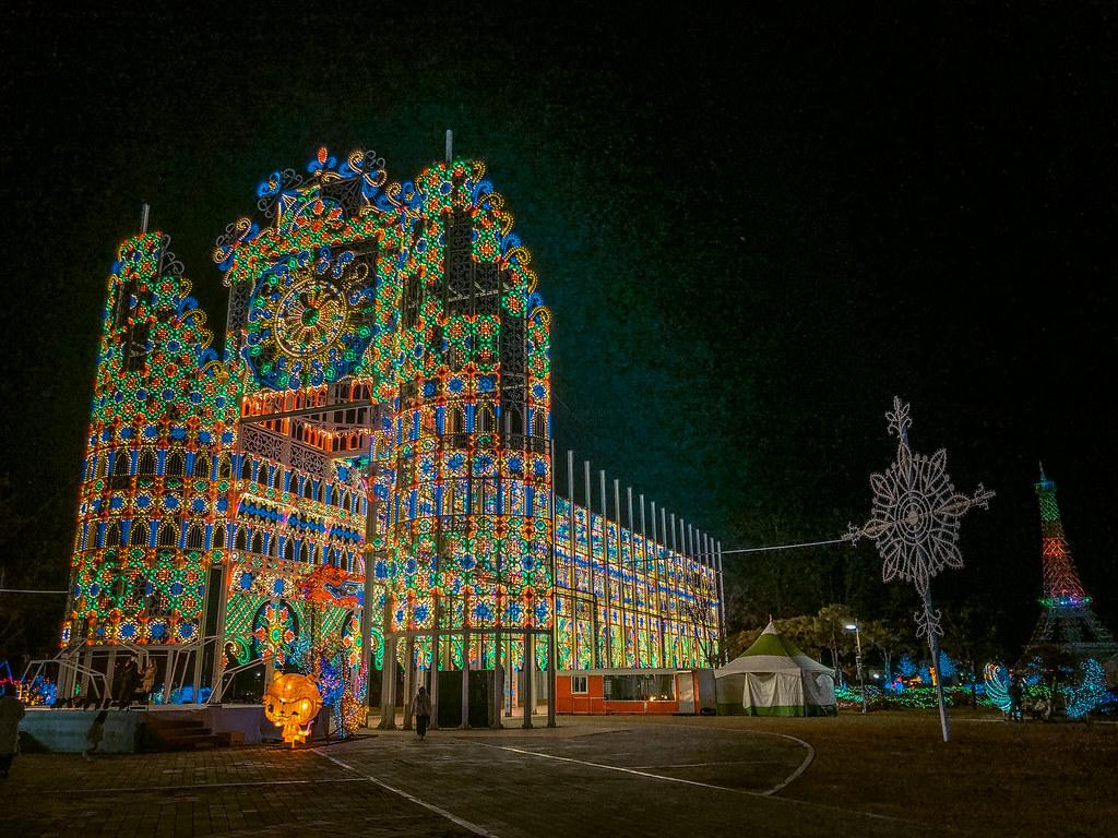 Christmas in Korea   Chungju Light World
