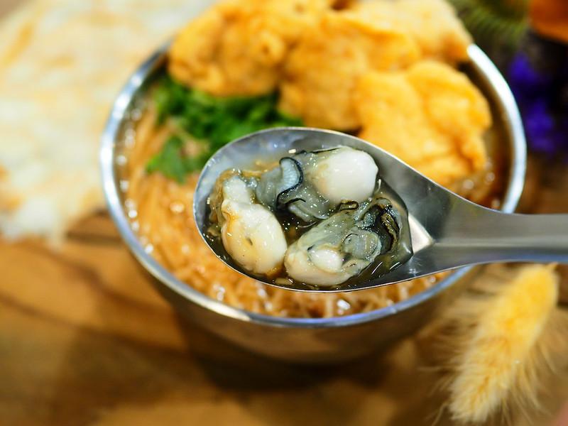 【新莊宏泰市場美食】點面線 到底是吃花還是吃麵線? 花店中的麵線卻用料實在又美味 - 風塵萬里 旅人手札