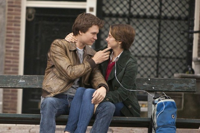 Ansel Elgort and Shailene Woodley in