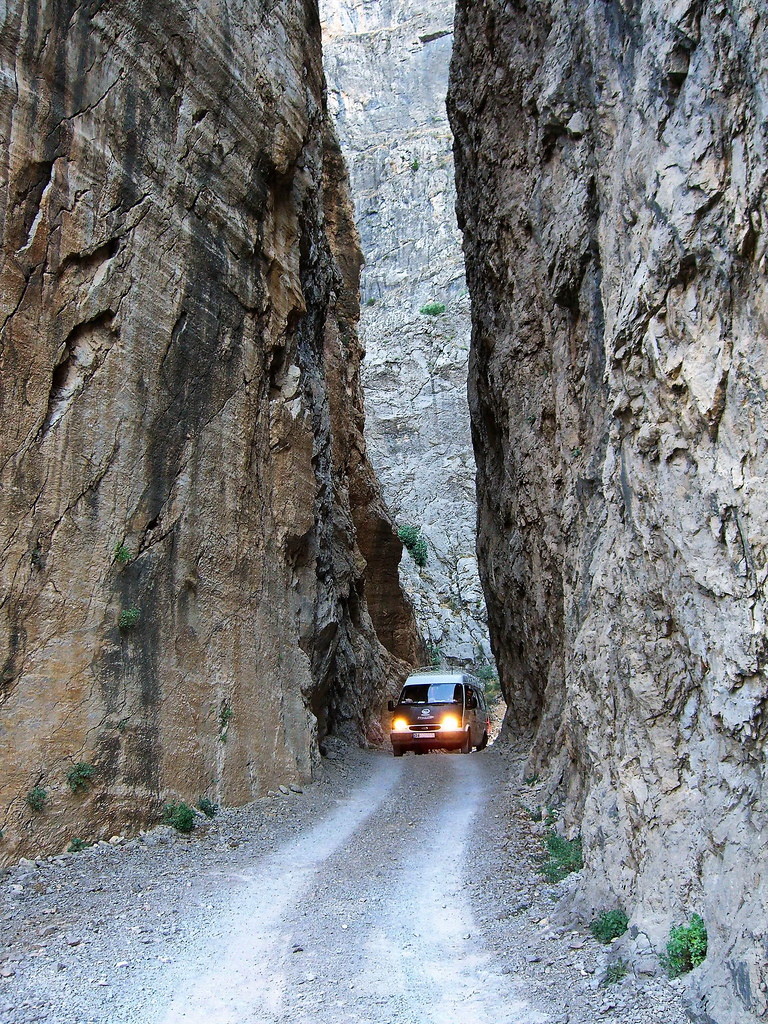 Road in Dark Canyon