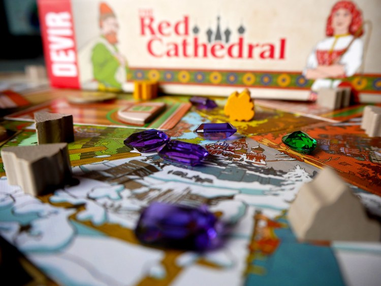 RED CATHEDRAL JOYAS
