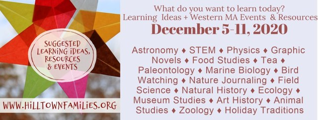 Graphic with a list of 18 topics and an invitation to follow your interests.