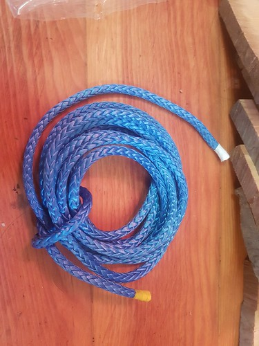 6mm Sampson Blue Dyneema for making the blocks