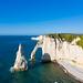 Les falaises de Etretat en Normandie