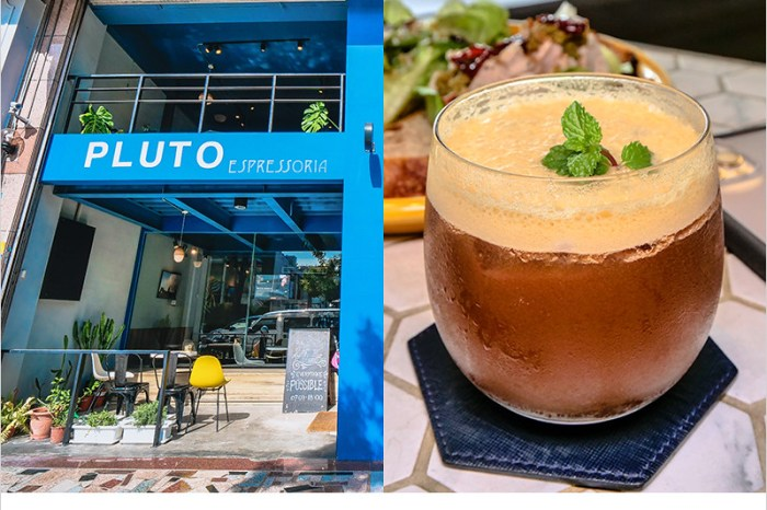 台中南屯咖啡廳 | Pluto Espressoria(捷運文心森林公園站),藍色系漂亮裝潢,專賣早午餐、輕食、義式咖啡,無限時,有插座。